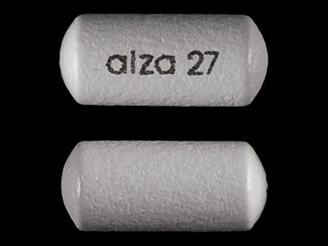 Imprint alza 27 - Concerta 27 mg