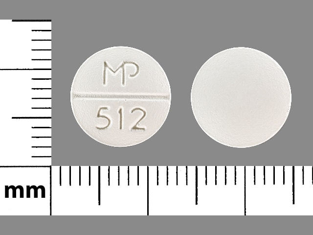Imprint MP 512 - propafenone 225 mg