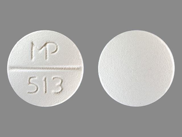 Imprint MP 513 - propafenone 300 mg