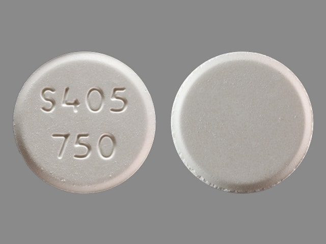 Imprint S405 750 - Fosrenol 750 mg