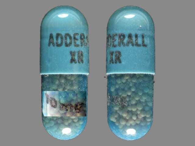 Imprint ADDERALL XR 10 mg - Adderall XR 10 mg