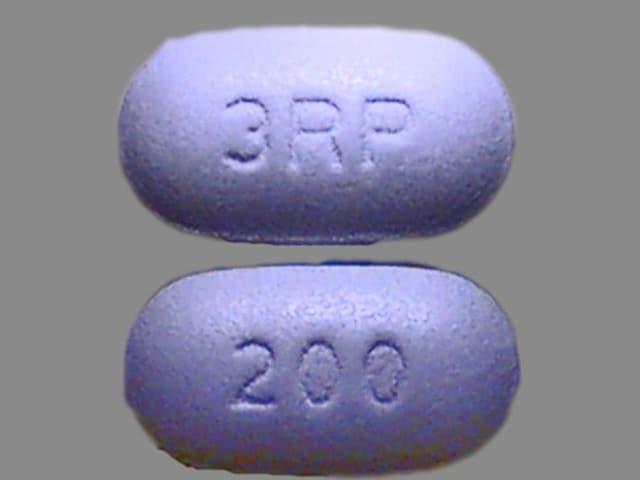 Imprint 200 3RP - ribavirin 200 mg