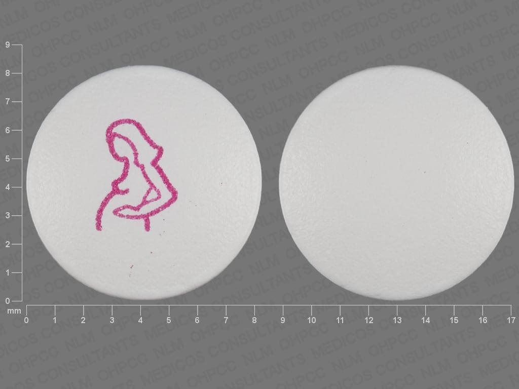 Imprint Logo (Pregnant Woman) - Diclegis doxylamine succinate 10 mg / pyridoxine hydrochloride 10 mg