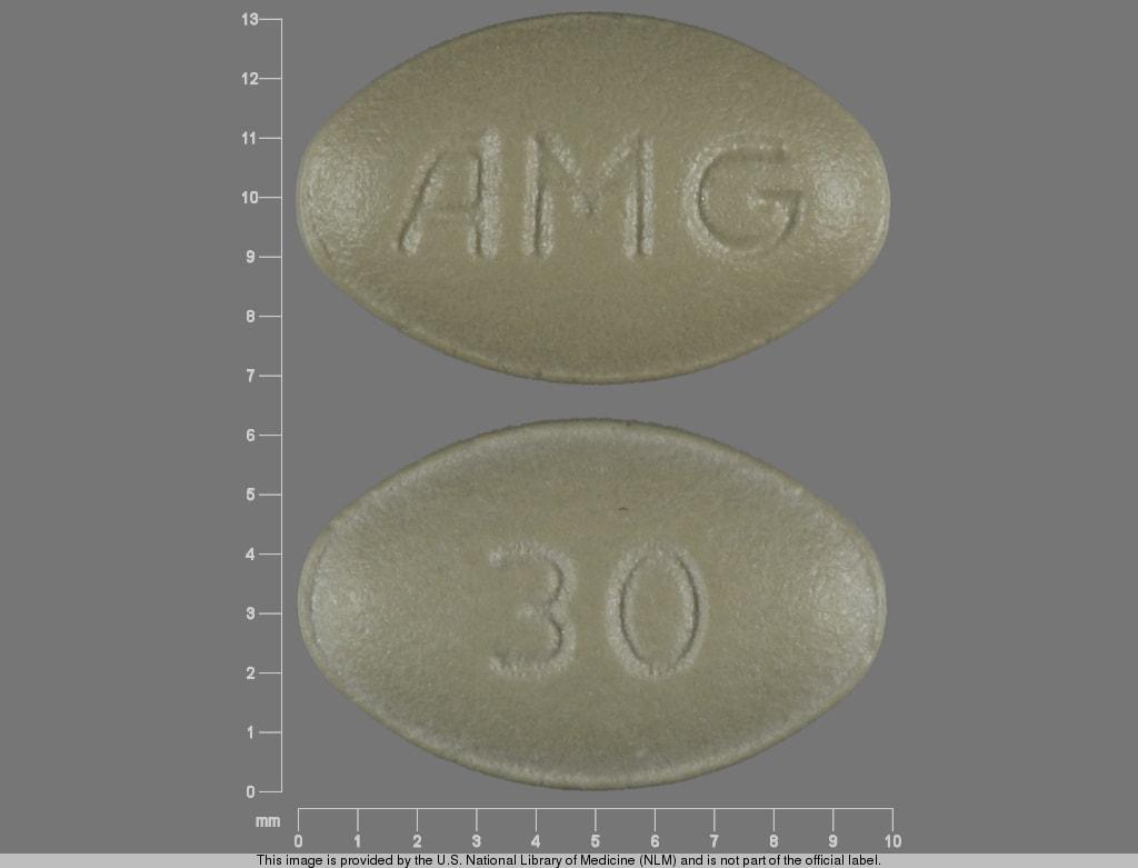 Imprint AMG 30 - Sensipar 30 mg