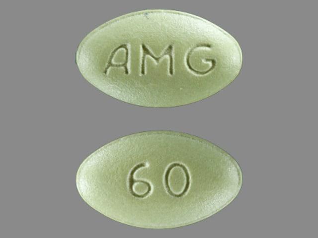 Imprint AMG 60 - Sensipar 60 mg