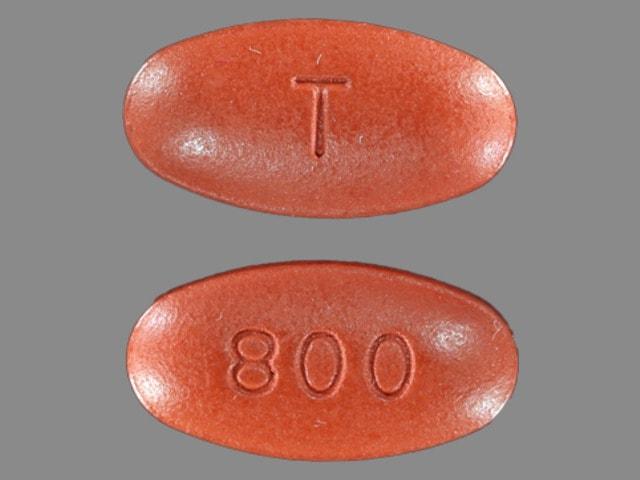 Imprint T 800 - Prezista 800 mg