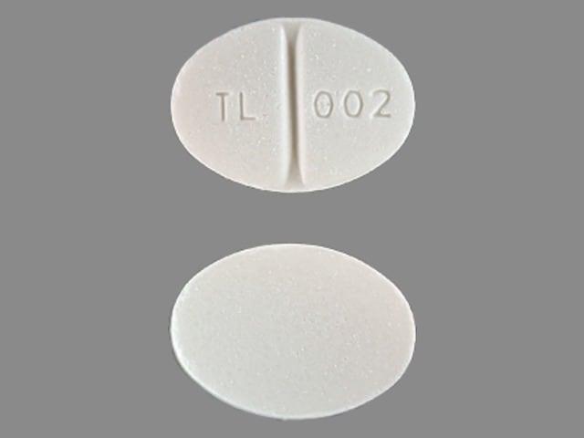 Imprint TL 002 - methylprednisolone 8 mg