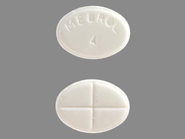 MEDROL 4 - Methylprednisolone