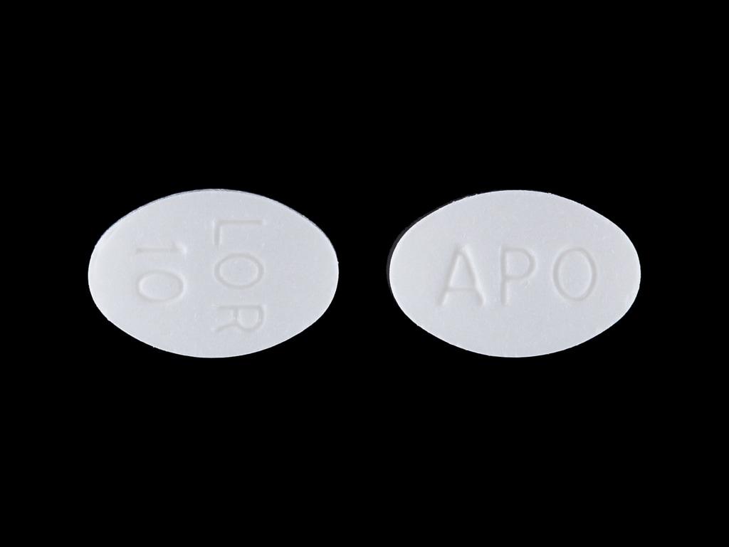 Imprint APO LOR 10 - loratadine 10 mg