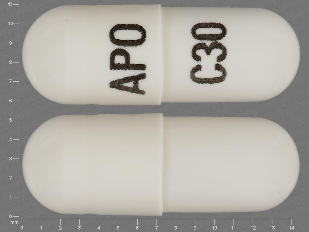 Imprint APO C30 - cevimeline 30 mg