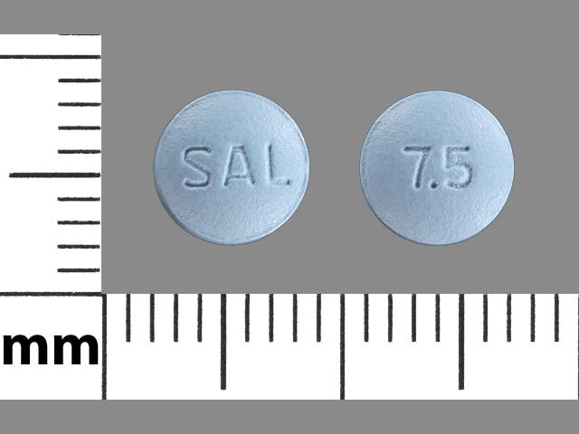 Imprint SAL 7.5 - Salagen 7.5 mg