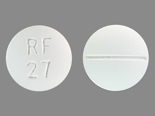 Imprint RF 27 - chloroquine 250 mg