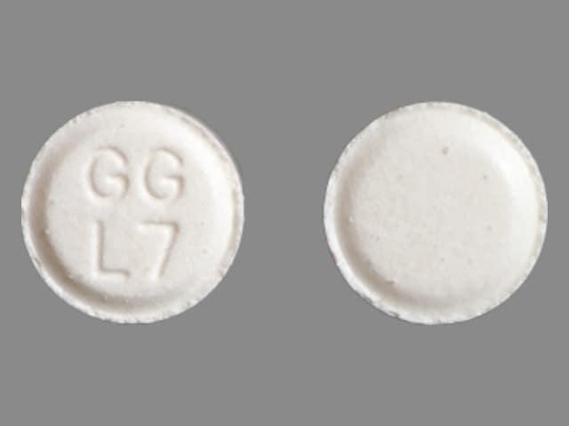 Image 2 - Imprint GG L7 - atenolol 25 mg