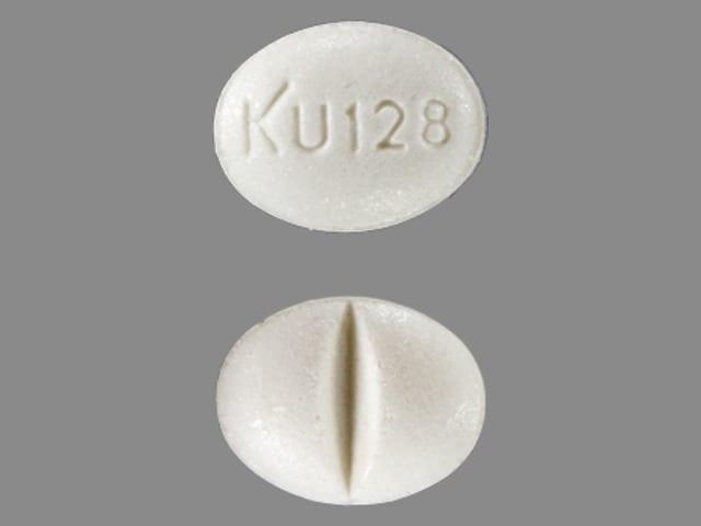 Imprint KU 128 - isosorbide mononitrate 30 mg