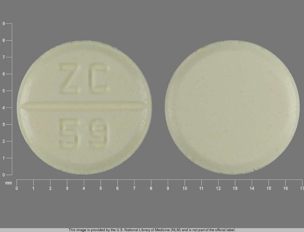 Imprint ZC 59 - azathioprine 50 mg