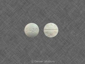 Image 1 - Imprint 5430 DAN DAN - acetazolamide 250 mg