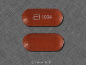 Imprint a 1004 - Advicor 40 mg-1000 mg