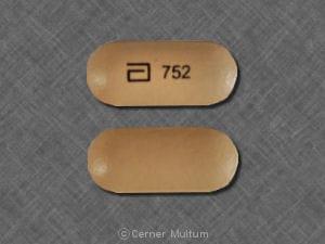Imprint a 752 - Advicor 20 mg-750 mg
