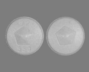 Imprint ap 550 - Albenza 200 mg