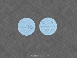 Imprint 5715 DAN 100 - amoxapine 100 mg