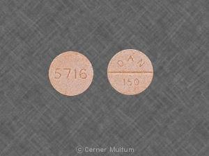 Imprint 5716 DAN 150 - amoxapine 150 mg