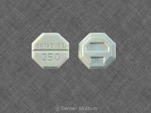 Image 1 - Imprint ANTABUSE 250 A - Antabuse 250 mg