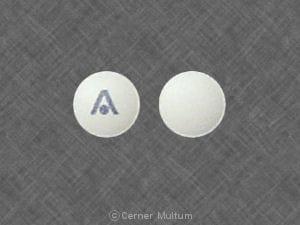 Imprint A - Axert 12.5 mg