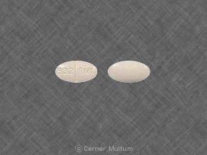 Image 1 - Imprint 832 BM1 - benztropine 1 mg