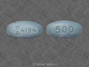 Imprint Logo 4194 500 - cefaclor 500 mg