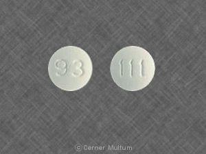 Imprint 93 111 - cimetidine 200 mg
