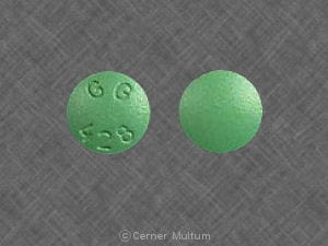 Imprint GG 428 - cimetidine 300 mg