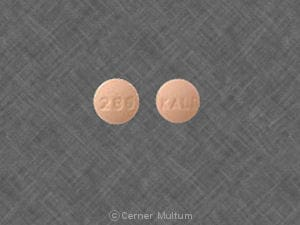 Imprint 280 KALI - citalopram 10 mg