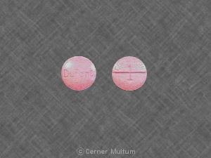 Imprint Dupont COUMADIN 1 - Coumadin 1 mg