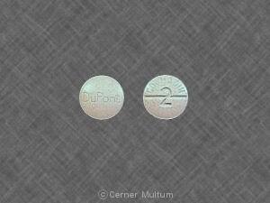 Image 3 - Imprint DuPont COUMADIN 2 - Coumadin 2 mg