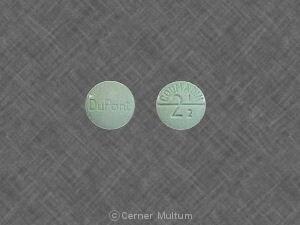 Image 5 - Imprint DuPont COUMADIN 2 1/2 - Coumadin 2.5 mg