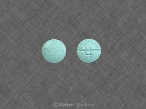 Imprint DuPont COUMADIN 4 - Coumadin 4 mg