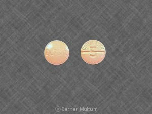 Image 1 - Imprint DuPont COUMADIN 5 - Coumadin 5 mg