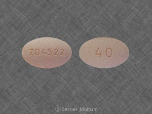 Imprint ZD4522 40 - Crestor 40 mg