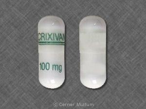 Imprint CRIXIVAN 100 mg - Crixivan 100 mg