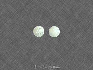 Image 1 - Imprint W 2225 - Cystospaz 0.15 mg