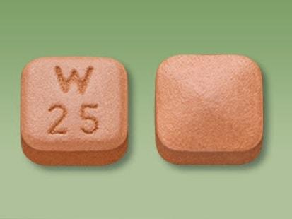 Imprint W 25 - Pristiq 25 mg