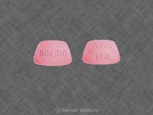 Imprint DIFLUCAN 100 ROERIG - Diflucan 100 mg