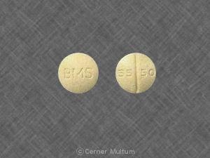 Imprint BMS 55 50 - diltiazem 60 mg