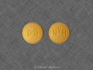 Image 1 - Imprint NVR DO - Diovan 40 mg