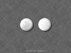Imprint b 152 - donepezil 10 mg