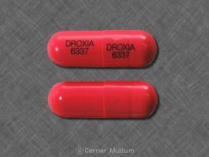 Imprint DROXIA 6337 - Droxia 400 MG