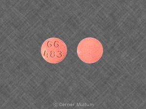Image 1 - Imprint GG 483 - enalapril 10 mg
