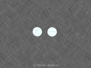 Image 1 - Imprint AP 025 - estradiol 0.5 mg