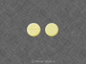 Imprint M E7 - estropipate 0.75 mg