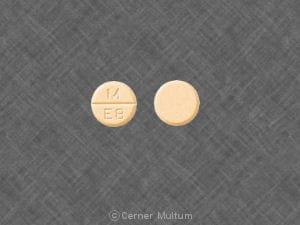 Imprint M E8 - estropipate 1.5 mg